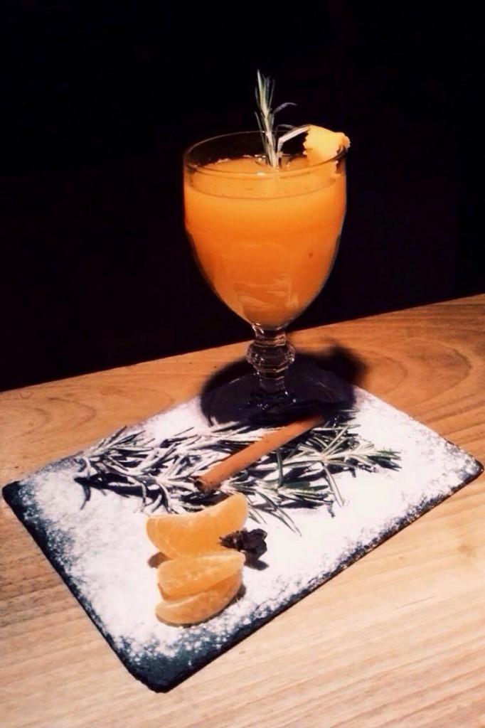 коктейль китайский мандарин рецепт