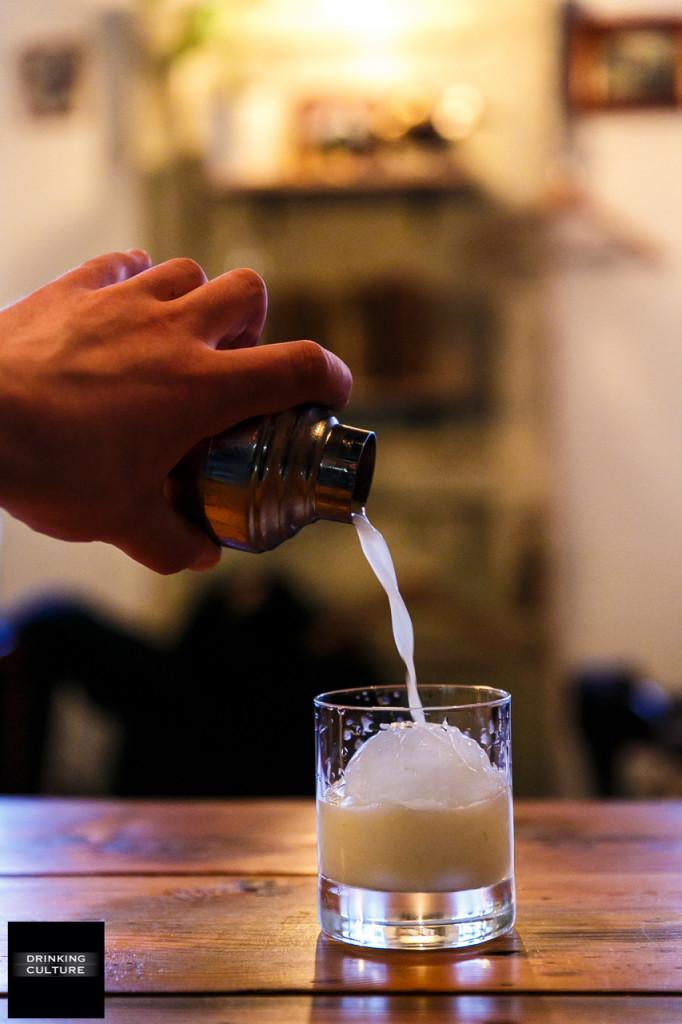 Как приготовить коктейль White juniper