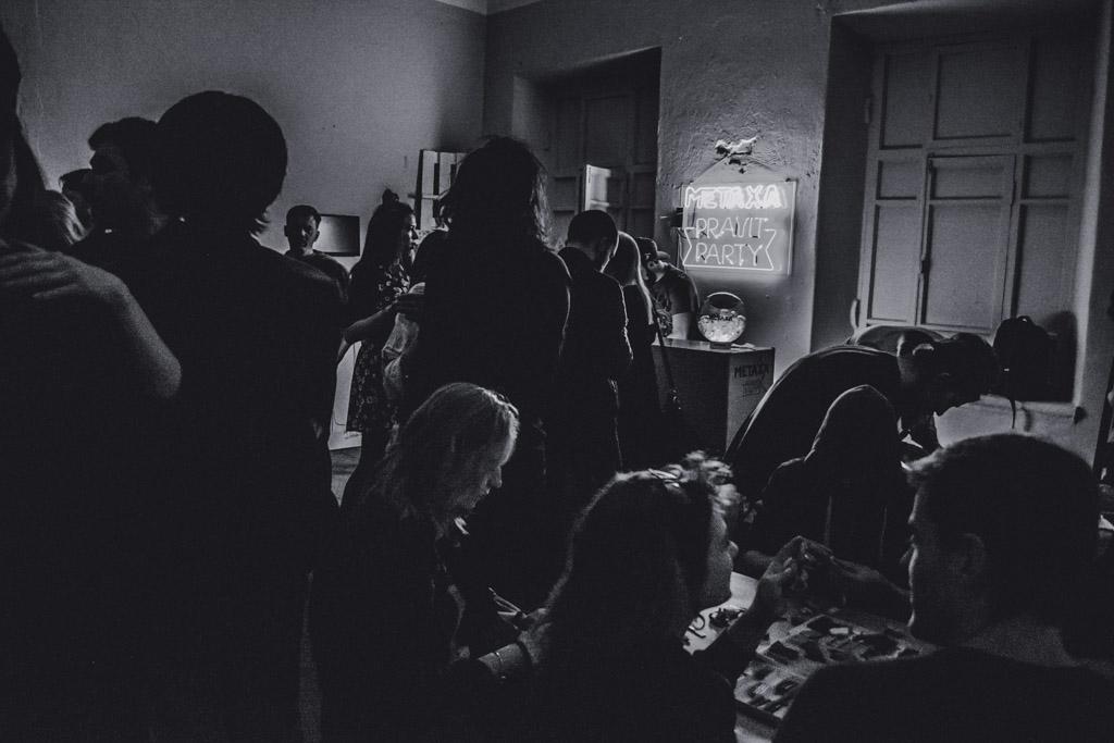 арт вечеринка, metaxa
